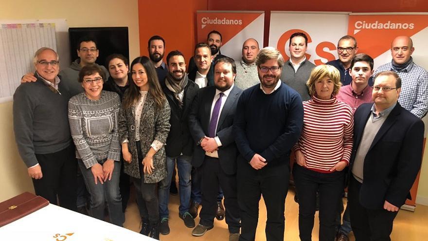 Reunión del comité autonómico de Ciudadanos Cantabria con Fran Hervías. | ARCHIVO