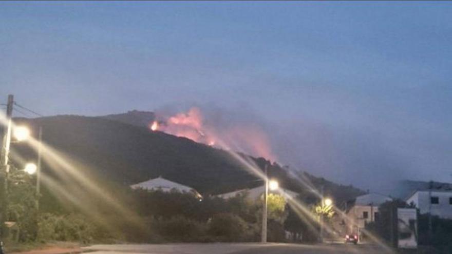 Incendio San Martín Trevejo