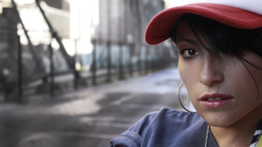 La cantante chilena Ana Tijoux