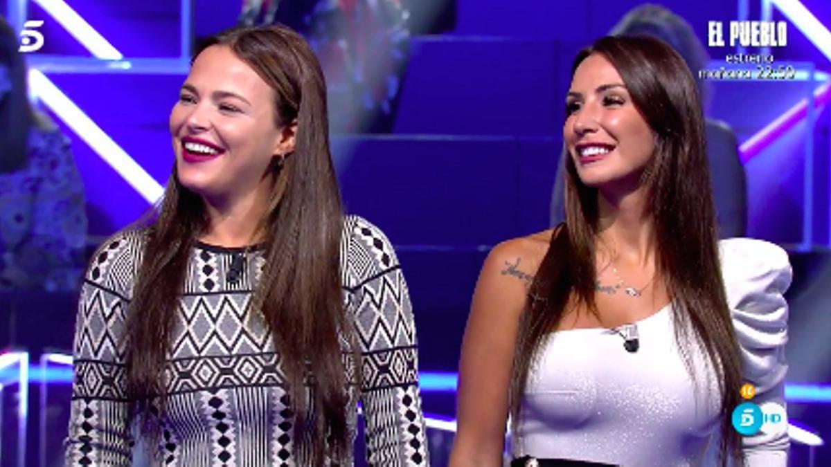 Marta Peñate y Fani Carbajo, en 'Secret Story'
