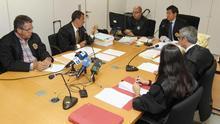 El Juzgado de lo Mercantil número 2 de Las Palmas de Gran Canaria celebró este miércoles dos nuevas vistas con demandas de familiares de víctimas del JK5022. Efe/Elvira Urquijo A.