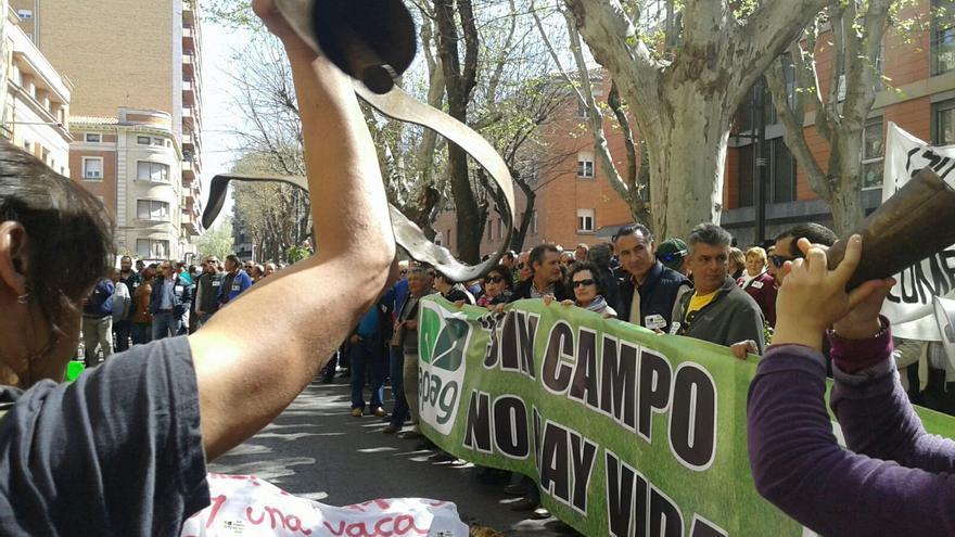 Manifestación Asaja Guadalajara