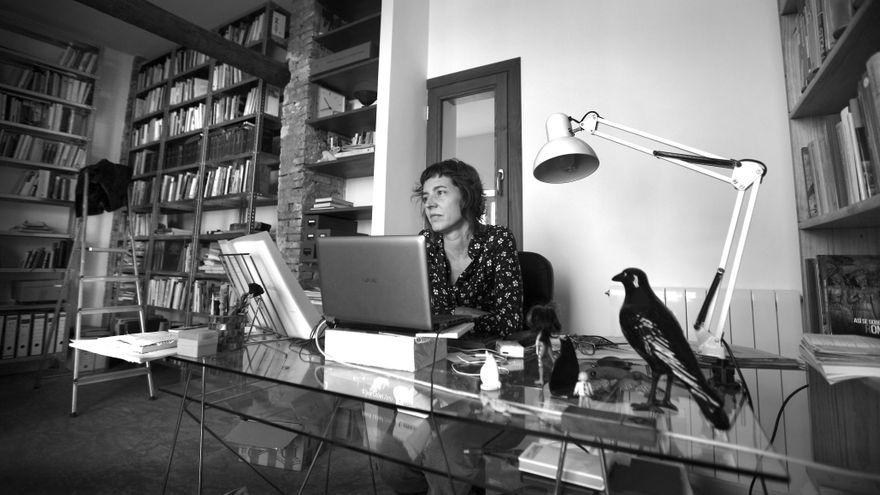 L'escriptora valenciana Núria Cadenes