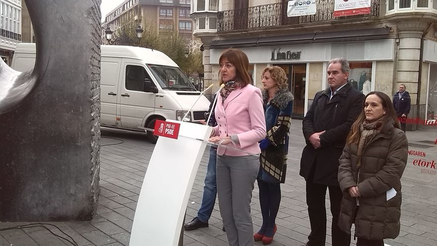 """PSE pide concentrar el voto de izquierdas contra la """"herencia"""" de """"recortes y corrupción"""" del PP"""
