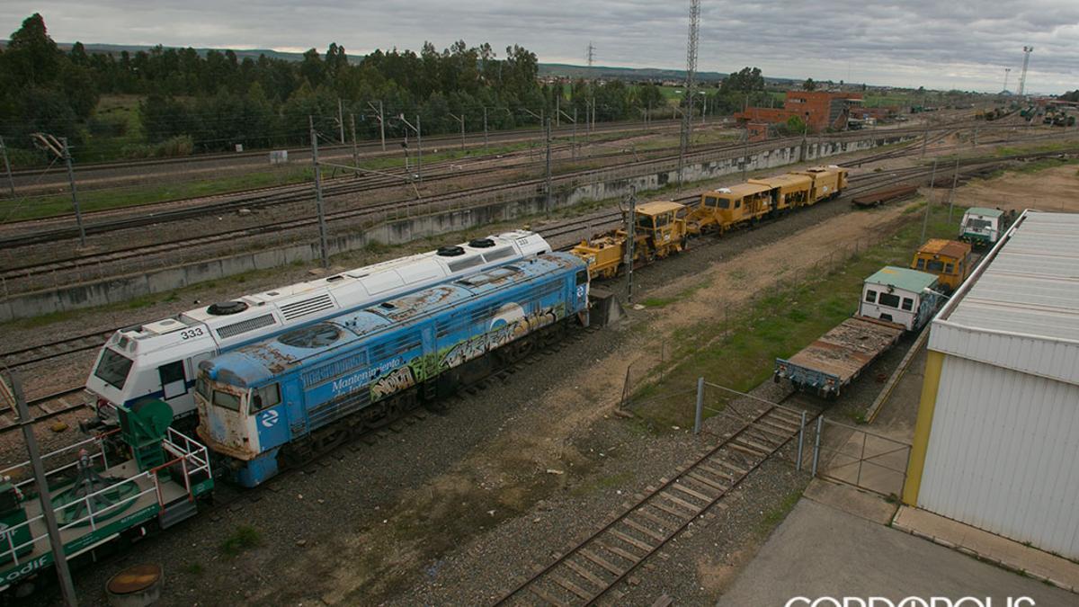 Ferrocarril de mercancías en Córdoba