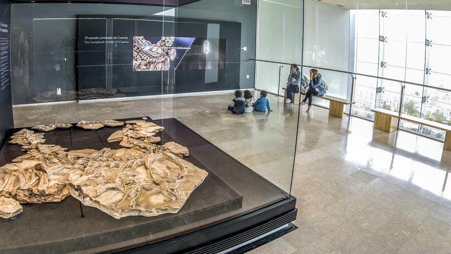 Sala del Concavenator. Museo Paleontológico de Cuenca
