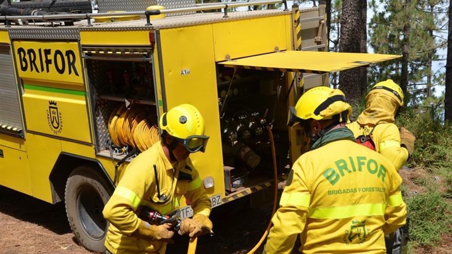 Conato de Incendio en El Rosario
