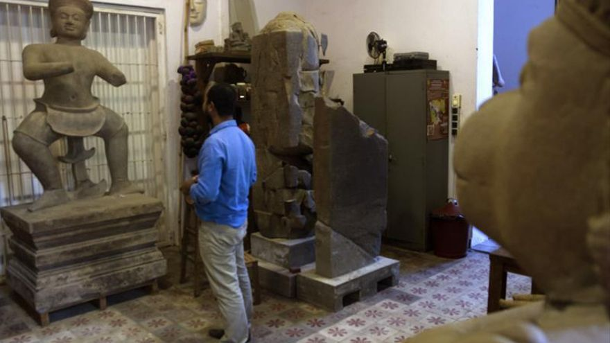 El Museo Nacional de Camboya expone en enero el cero más antiguo del mundo