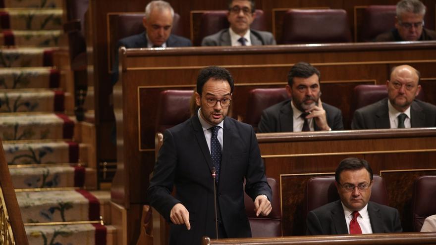 """El PSOE subraya que, de ser cierto, el desarme """"llega tarde"""" y apunta que aún falta su disolución """"definitiva"""""""