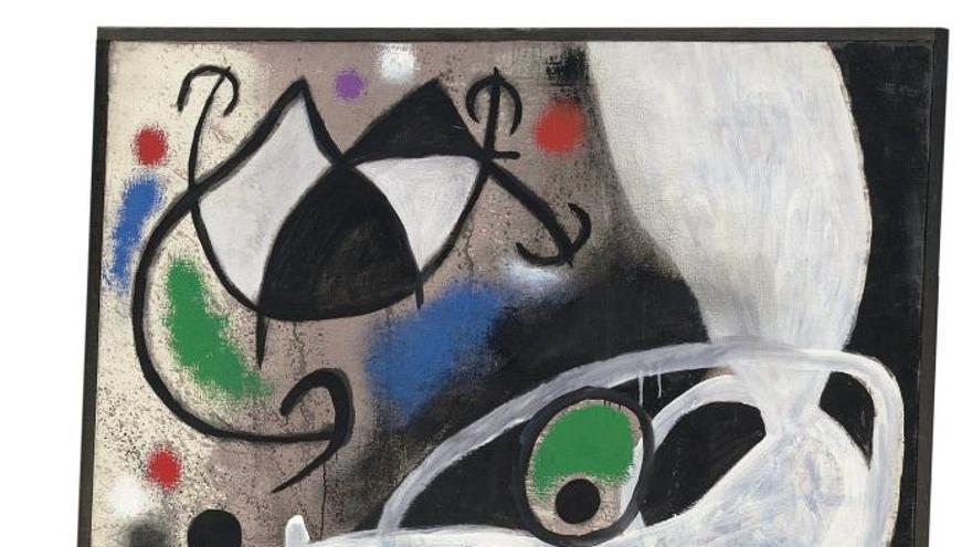 Christie's expone 85 obras de Joan Miró antes de la subasta