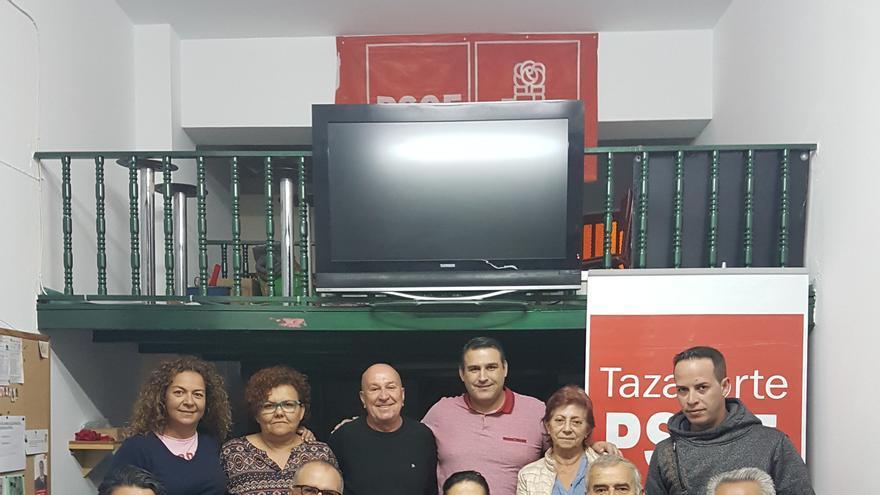 Comisión Ejecutiva del PSOE en Tazacorte.