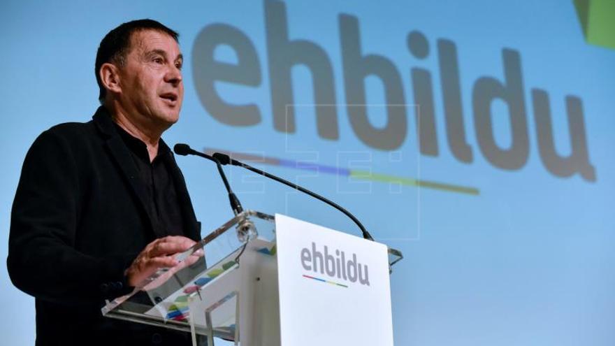 Otegi: Al PNV le falta altura de miras ante la declaración de ETA