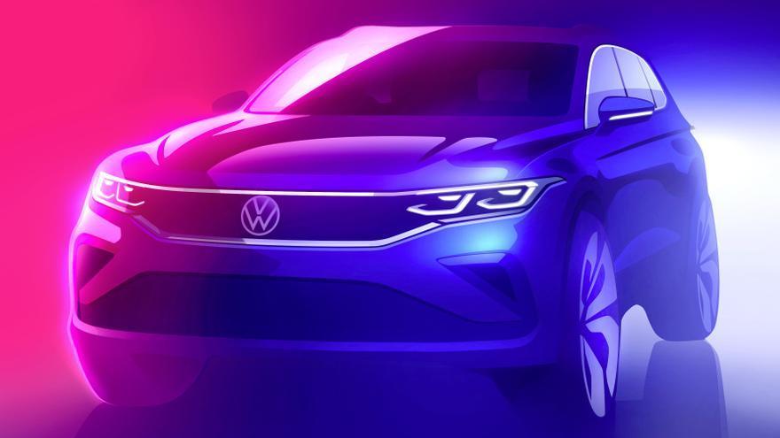 'Sketch' del nuevo Volkswagen Tiguan.