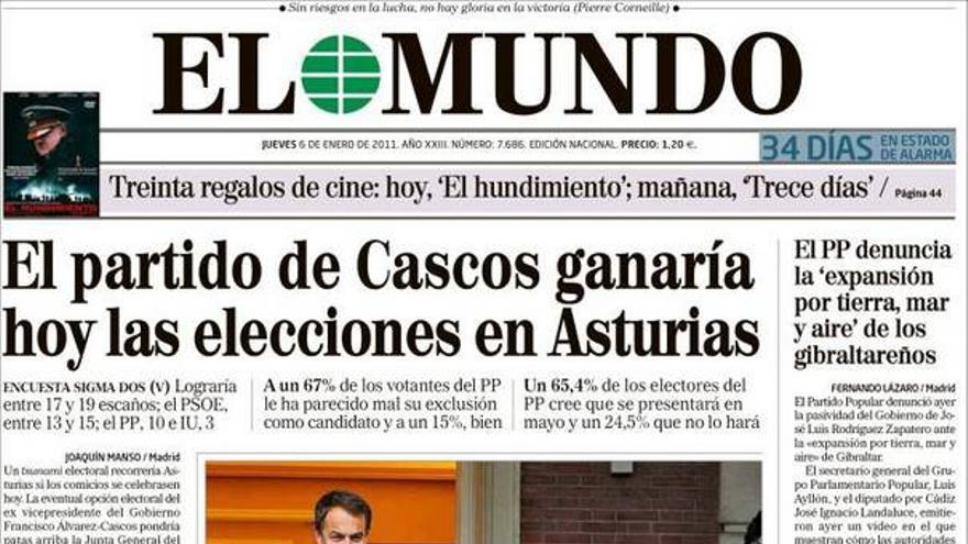 De las portadas del día (06/01/2011) #7
