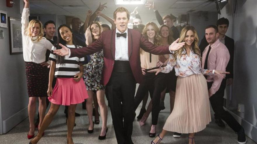 Kevin Bacon baila para Jimmy Fallon