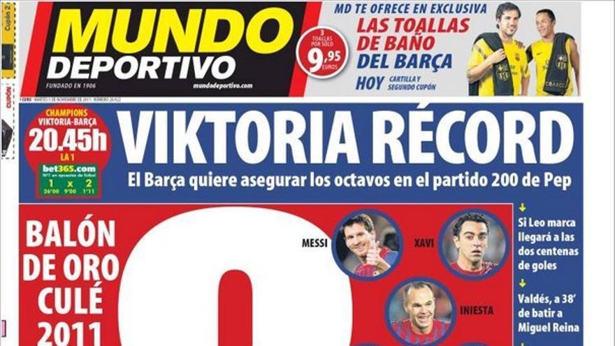 De las portadas del día (1/11/2011) #15