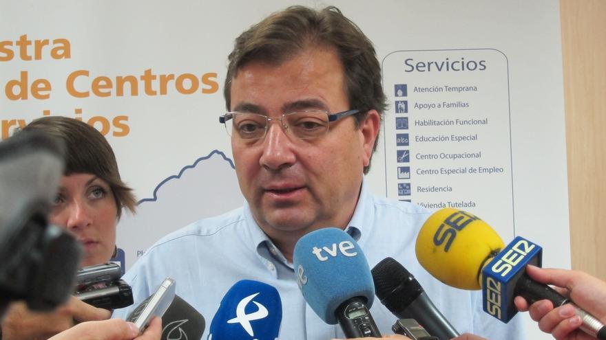 Vara prevé ser investido presidente de Extremadura sobre la última semana de junio