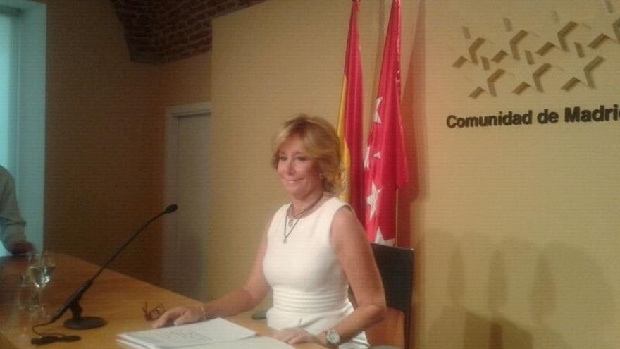 La dimisión de Esperanza Aguirre acapara los TT de Twitter