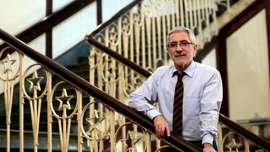 Gaspar Llamazáres, en el Ateneo Republicano de Madrid.
