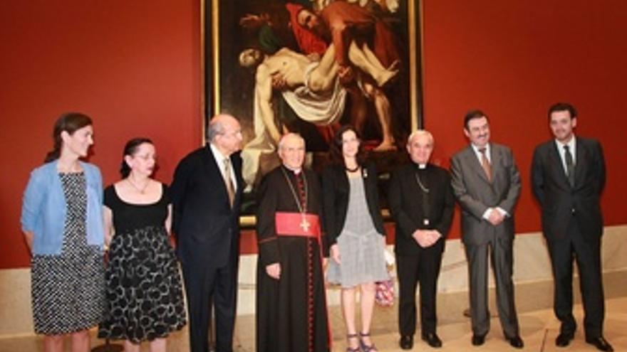 Presentación De 'El Descendimiento' En El Museo Del Prado
