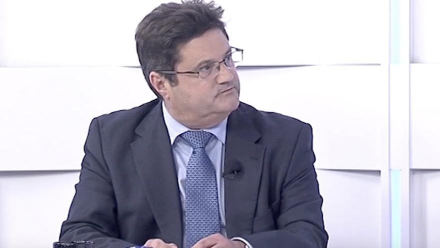 Corviniano Clavijo, ex consejero del CD Tenerife.