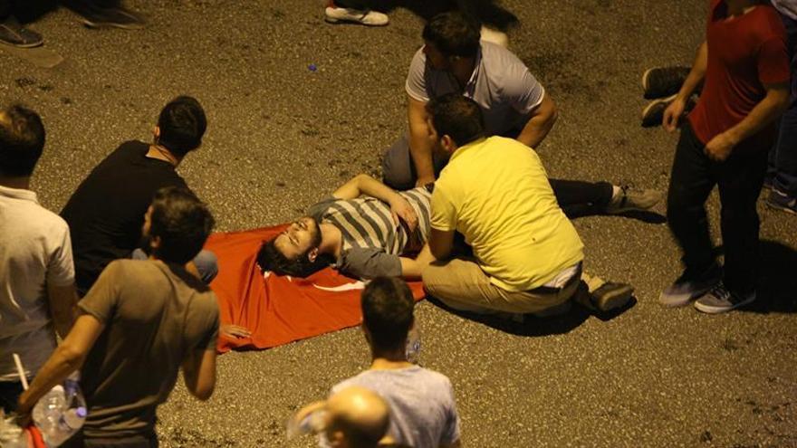 Al menos 60 muertos durante el intento de Golpe de Estado en Turquía