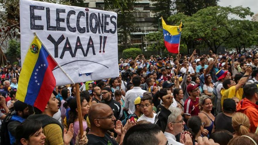 Venezuela, en tensión, se prepara para las marchas a favor y en contra del Gobierno