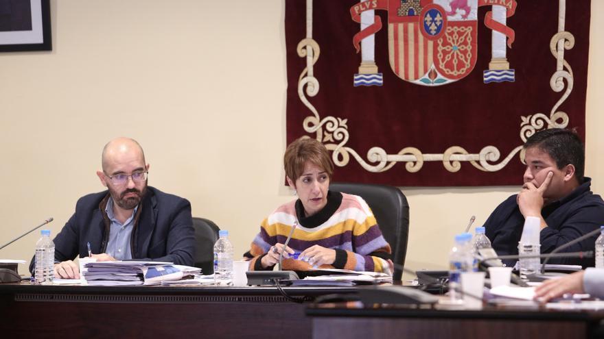 La alcaldesa de Mogán, Onalia Bueno.