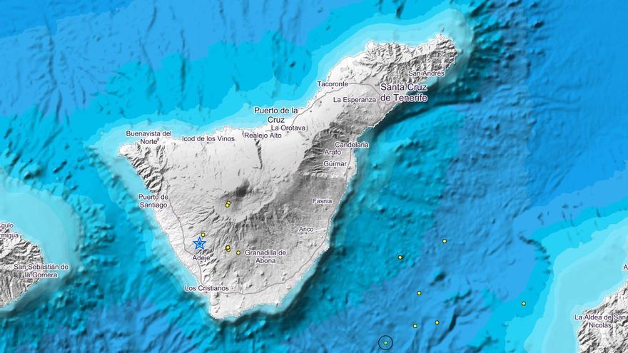 Movimientos sísmicos registrados en Canarias en las últimas hora