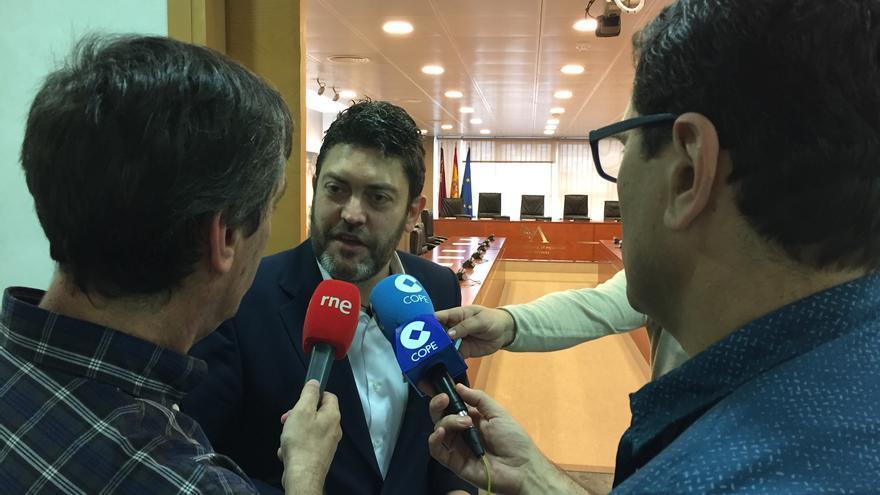 Miguel Sánchez, presidente de la comisión de investigación de la Desaladora de Escombreras