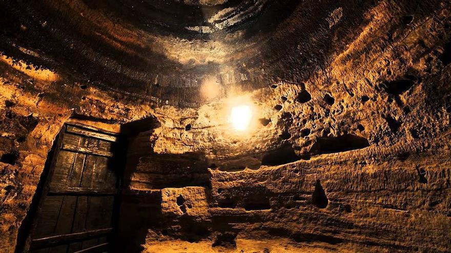 Cueva de Risco Caído. (Cabildo GC).