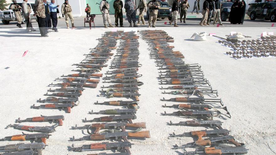 Irak quiere librarse de millones de armas tras décadas de conflicto