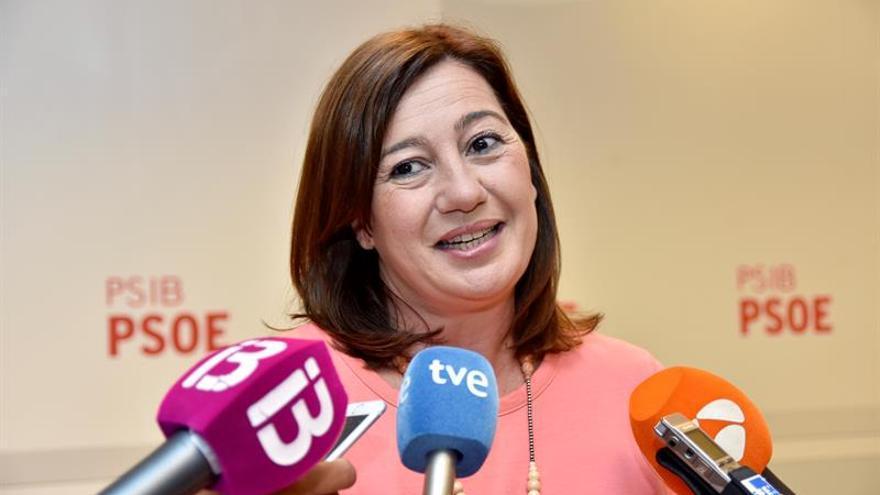 """Armengol pide """"cordura"""" para evitar una """"mayor ruptura social"""" en Cataluña"""