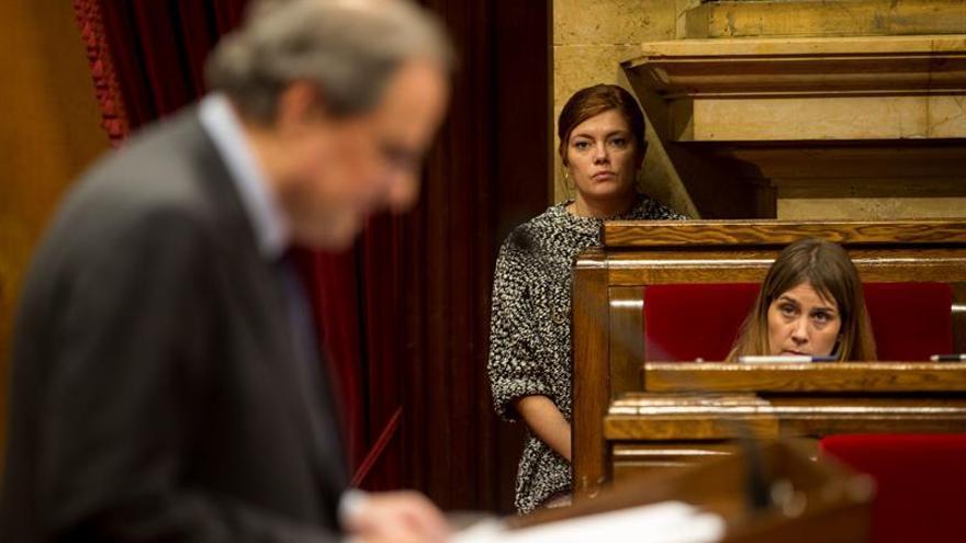 """En Comú Podem: Torra mostró los """"bandazos"""" del Govern y no tiene credibilidad"""