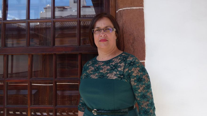Mayte Rodríguez, consejera del grupo Popular en el Cabildo de La Palma.