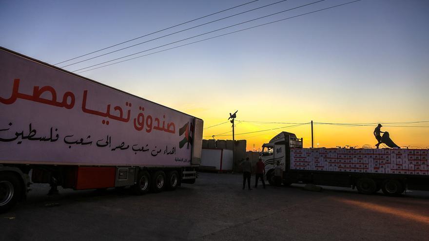 Egipto reabre por completo el paso fronterizo de Rafah con la Franja de Gaza