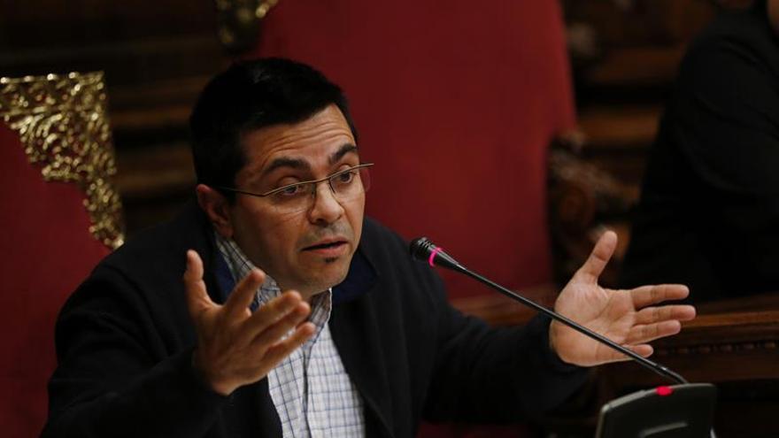 """Pisarello (BComú) dice que Día de la Constitución """"habrá poco que celebrar"""""""