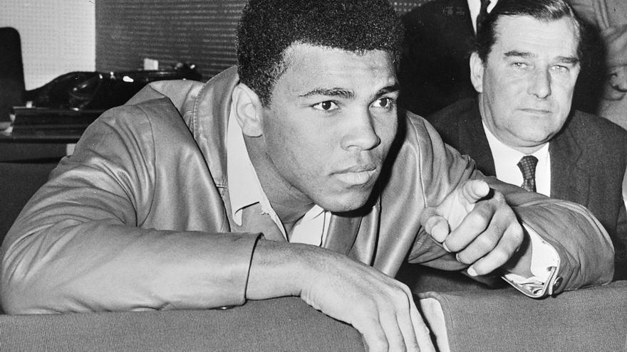 Muhammad Ali en 1966.