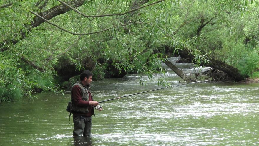 Cantabria suspende la pesca fluvial en todo su territorio hasta el 31 de octubre por la sequía