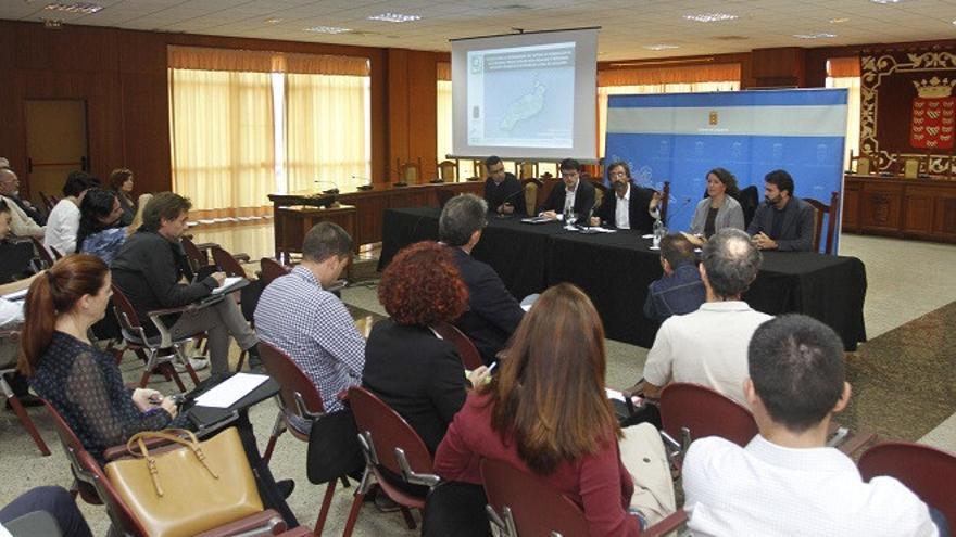 Presentación del estudio sobre el escenario energético de Lanzarote.