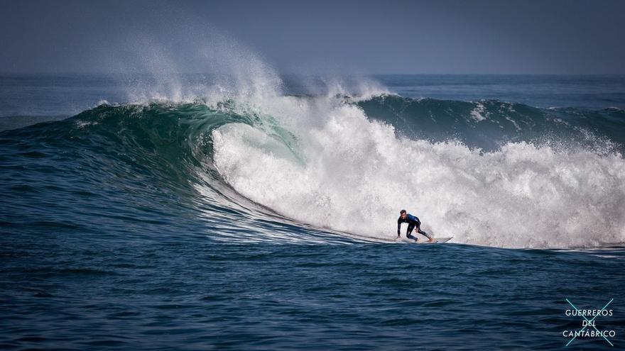 Imagen de la muestra de surf 'Guerreros del Cantábrico'.   ARENADO