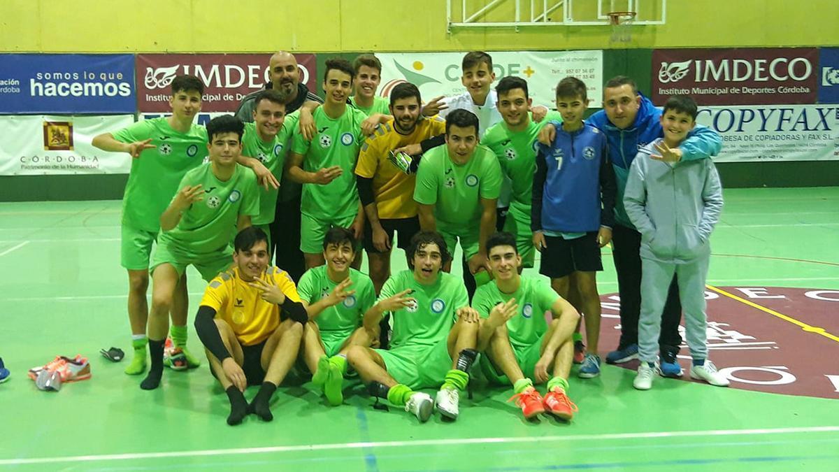 Imagen de un equipo del CD Atlético Cañero