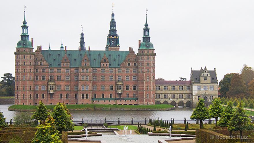 El Castillo de Frederiksborg, en Dinamarca