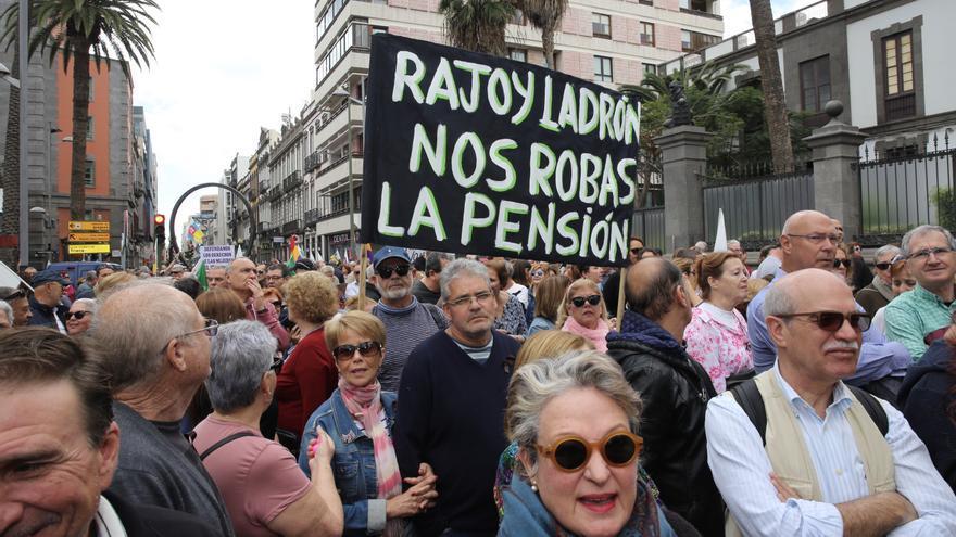 Marcha por unas pensiones justas.