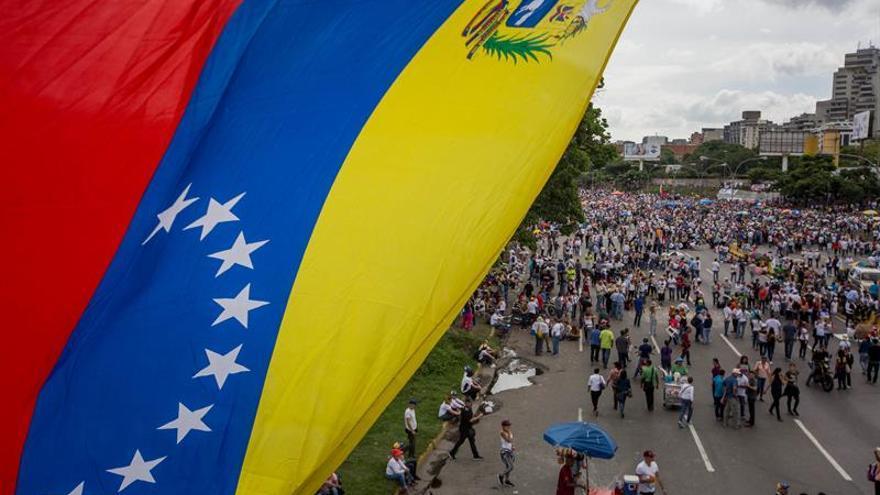 Manifestación en Venezuela.