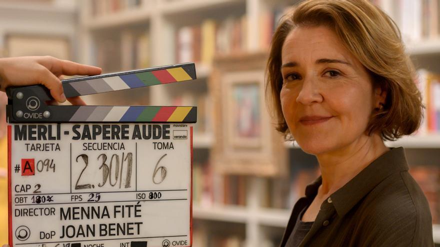 María Pujalte es la nueva 'Merlí' en el spin-off de Movistar