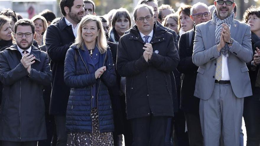 Torra pide por sorpresa comparecer mañana en el Parlament por caso 'procés'