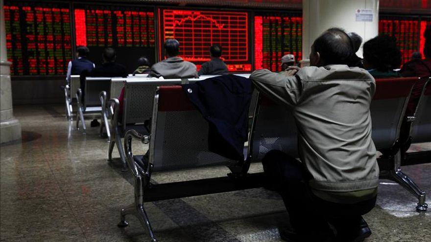 La Bolsa de Shanghái gana un 1,83 por ciento y alarga su alza de ayer