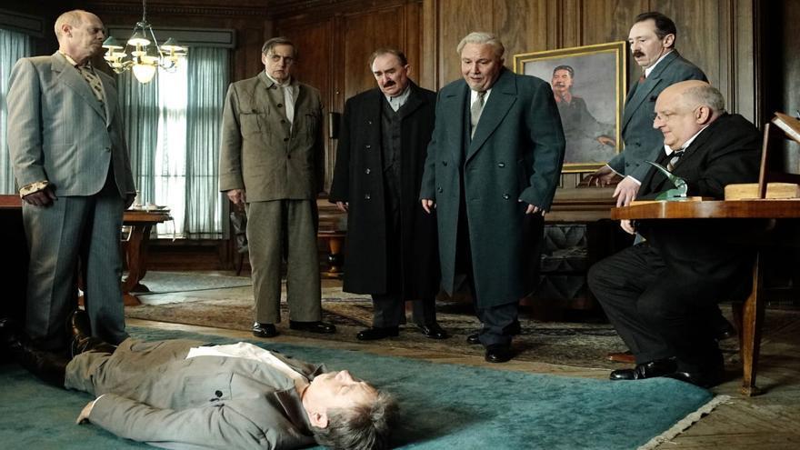 Escena de 'La muerte de Stalin'.
