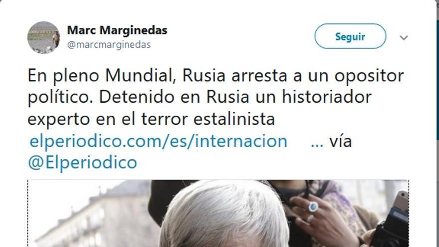 tuit el periodico rusia
